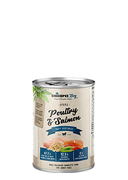 Wetfood Adult Poultry & Salmon